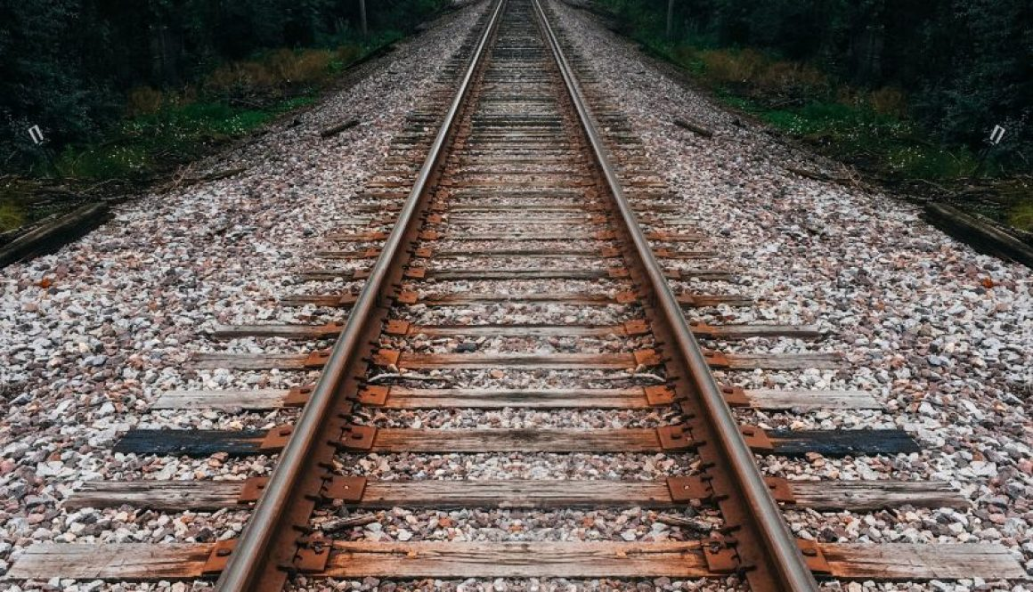Life is like an old-time railroad