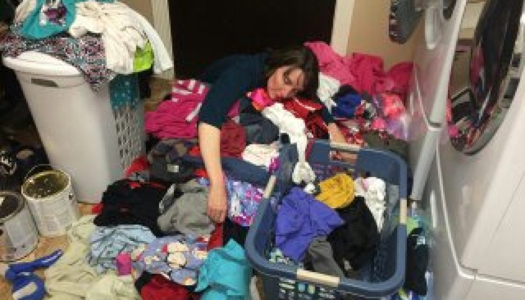 laundry exhaustion
